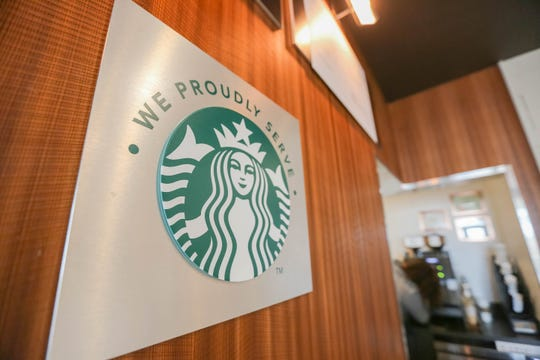 The in-house Starbucks is pictured on Wednesday, July 17, 2019 at the new Las Cruces Courtyard Marriott built on NMSU land set to open on Thursday.