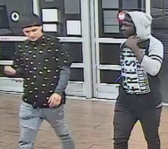 These two men are suspected of shoplifting more than $4,000 in electronics from a Las Cruces Walmart on Monday, June 24.