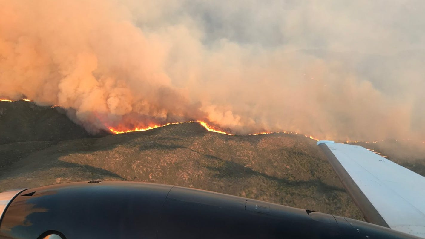 Fire officials worry weekend weather could feed Cellar Fire growth