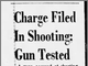 A clipping from The Arizona Republic on Sept. 13, 1968, about the man who shot Manny Quiñonez that year being arrested.
