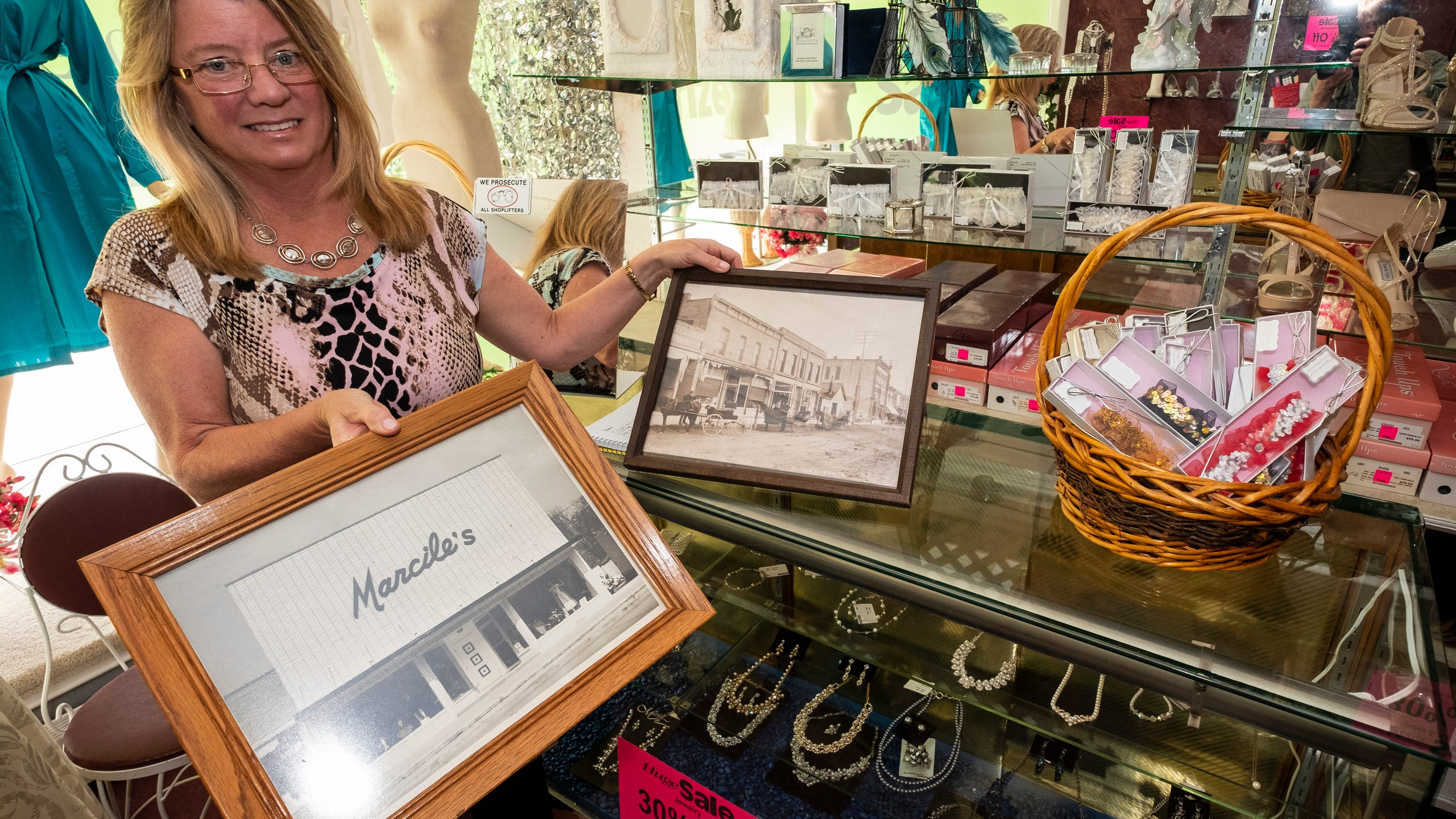 Generations brought dresses at Marcile's  The Richmond store is now