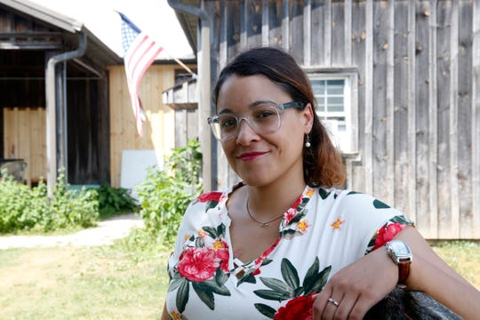 Jasmin Vazquez assistant executive director of Heroic Food at Sprout Creek Farm in the Town of Poughkeepsie on July 16, 2019