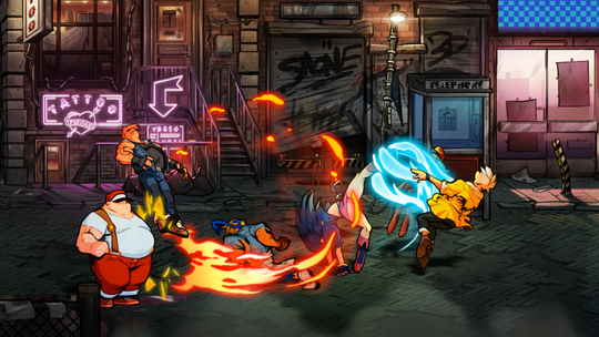 Streets of Rage 4 marks a return for the classic video game series.