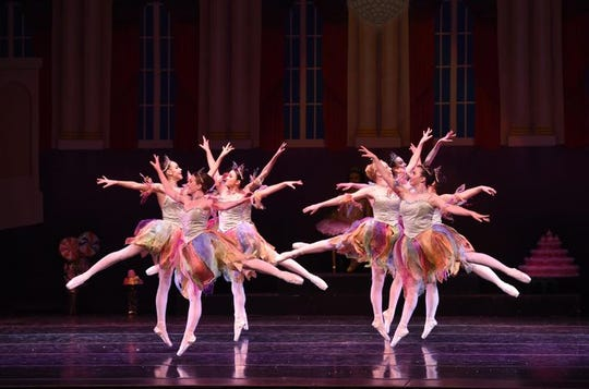"""A scene from the A.V.A. Ballet Theatre's production of """"The Nutcracker."""""""