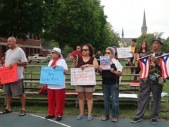 Rochester protesters call for governor of Puerto Rico to resign