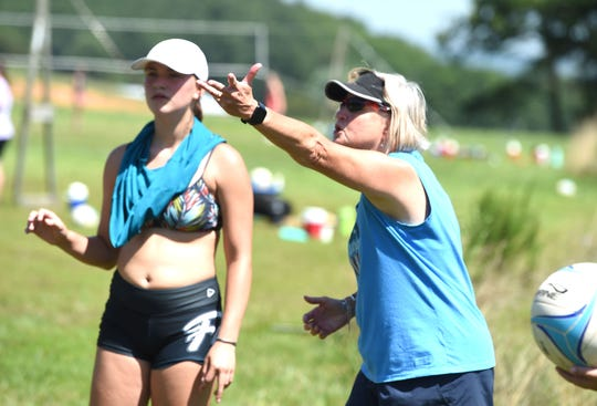 The annual Lofton Lake Volleyball Camp will be held as scheduled this year. Organizers are working to make it as safe as possible.