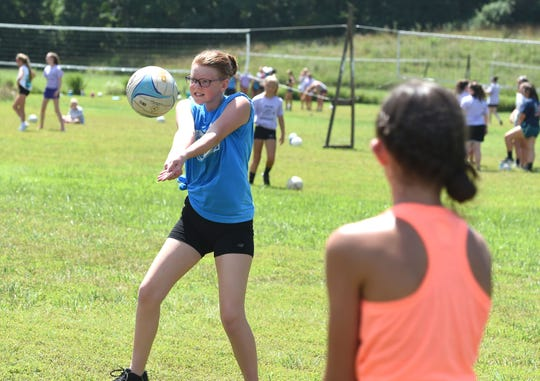 There will be some additional safety precautions, but the volleyball camp at Lofton Lake will take place in July.