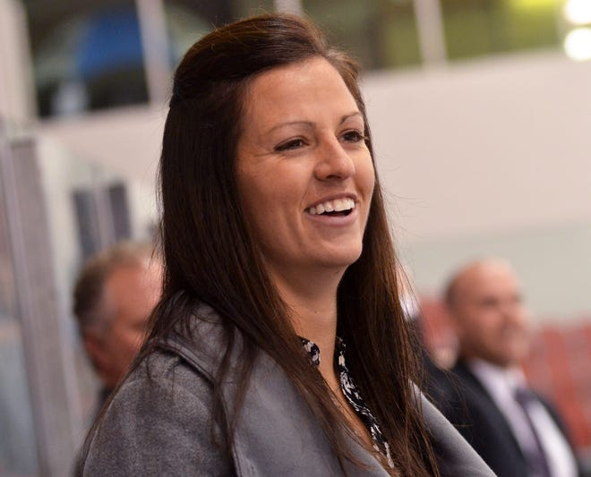 Jinelle Siergiej was named associate head coach of the SCSU women's hockey team on Wednesday, July 17, 2019. Siergiej has coached as an assistant with the Huskies for the past five seasons.