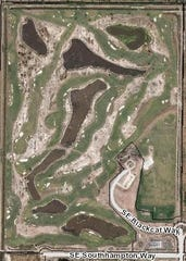 The Grove Golf Club in Hobe Sound as seen from GIS mapping by the Martin County Property Appraiser's Office, which was taken between December 2018 and January 2019.
