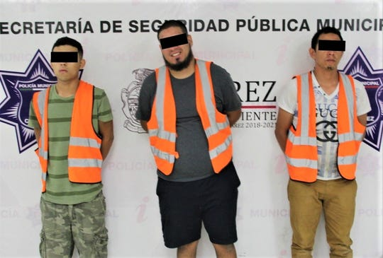 Juárez police arrested alleged members of a La Linea crime organization hit squad suspected in 22 murders within 10 days in July 2019, officials said.