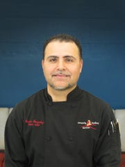 Pastry chef Sergio Gonzalez.