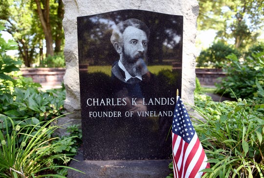 The Siloam Cemetery, located at 550 North Valley Avenue, was established in 1864 on a plot of land donated by Charles K. Landis, the founder of Vineland. The chapel was constructed in 1918.