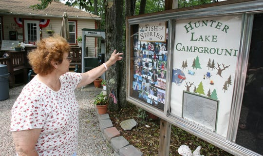 Hunter Lake Campground co-owner Ann Scott at the camp in Parksville Aug. 5, 2009. Diane Schuler left the campsite before crashing on the Taconic Parkway.