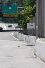 A stop area located east of the Tappan Zee Bridge toll booth on the Westchester side July 30, 2009, is the spot believed where Diane Schuler pulled over to call her brother.