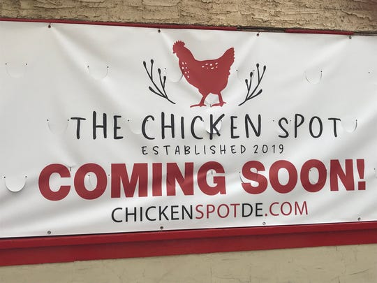 The Chicken Spot is a new eatery coming soon to 10th and Orange streets in downtown Wilmington.