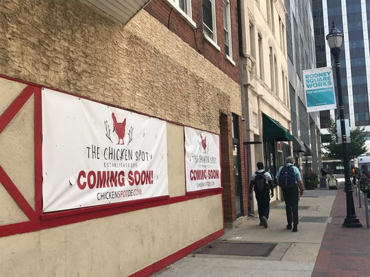 The Chicken Spot is opening later this summer in downtown Wilmington. It will take over a spot formerly occupied by Benjamin's.