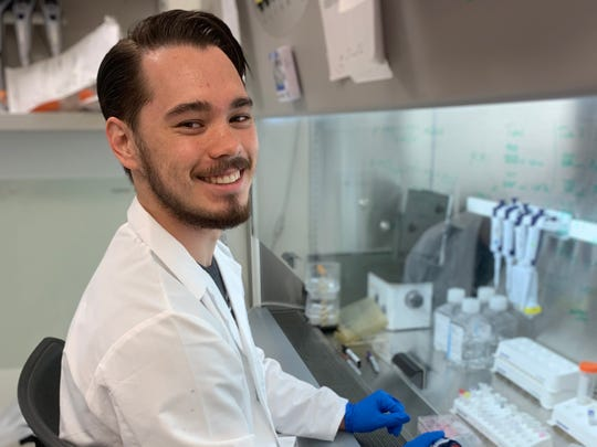 Matthew Mitchell, a junior chemistry major at MSU Texas, had the chance this summer to work as an intern at the National Institutes of Health near Washington, D.C.
