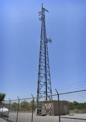 In this file photo, a cellular-communications network tower in southern Wichita County. The Federal Communications Commission's latest roll out of authorizations will bring services to more than 23,000 locations in the state including 2,007 in the North Texas area.