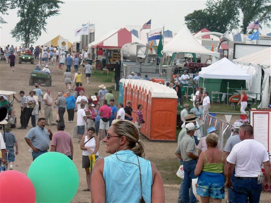 The 2005 Farm Tech Days in Clark County when the crowds seemed bigger,