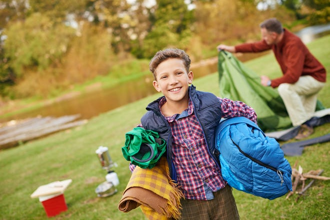 Get everything you need for an outdoor campout delivered for free.