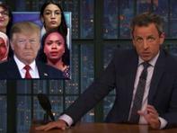 Comics slam Trump's racist tweets in Best of Late Night