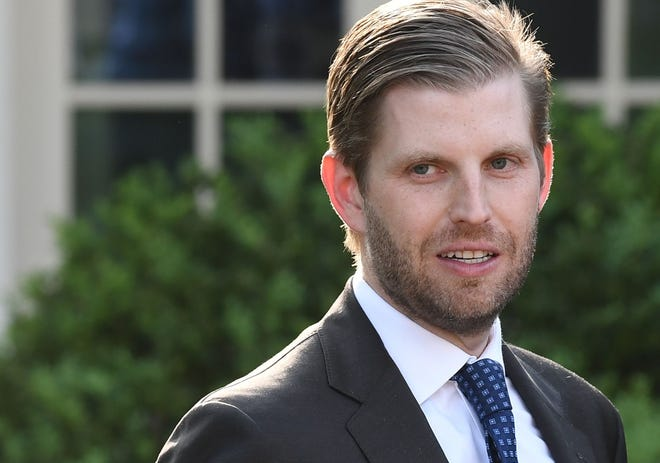 "Eric Trump, son of President Donald Trump, will host a ""Make America Great Again"" rally at 1 p.m. Thursday at Munroe Inc. in Ambridge."