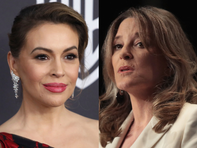 Alyssa Milano defends attending fundraiser for presidential hopeful Marianne Williamson