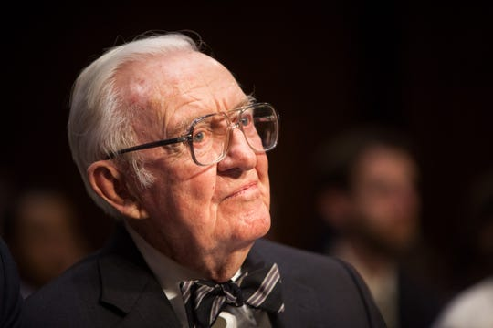 Former Supreme Court Justice John Paul Stevens in 2014.