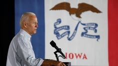 Former Vice President Joe Biden in Council Bluffs, Iowa, on July 17, 2019.
