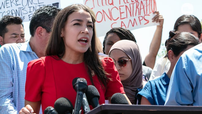 Rep. Alexandria Ocasio-Cortez says progressives expected more conservative action from the Biden administration.
