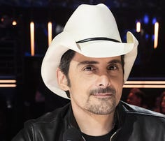 'AGT' guest judge Brad Paisley pushes golden buzzer for 15-year-old singer