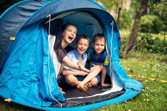 Camp out rain or shine with tent options from Walmart.