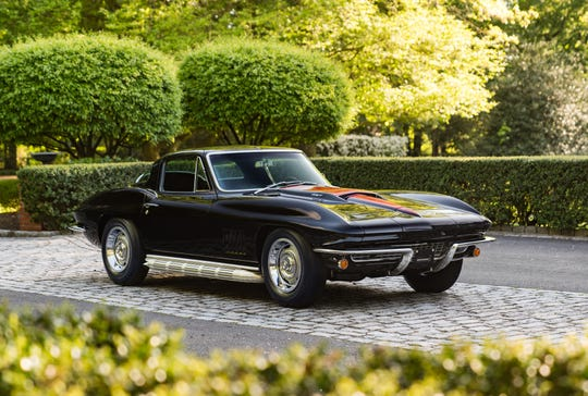 A 1967 Chevrolet Corvette Sting Ray L88 Coupe. This vehicle scored a record $ 3.85 million in 2014 for Corvette sales.