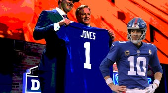 USA TODAY Sports' Art Stapleton breaks down the future at quarter back for the New York Giants.