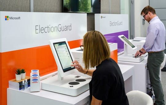 Microsoft reports hundreds of election-related cyber probes