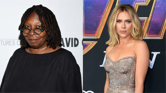 "Whoopi Goldberg and her ""The View"" co-hosts slammed Scarlett Johansson for making controversial comments about casting."