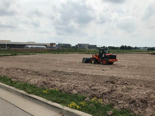 The Culver's site on W. Evergreen Drive in Grand Chute, across the street from Meijer.