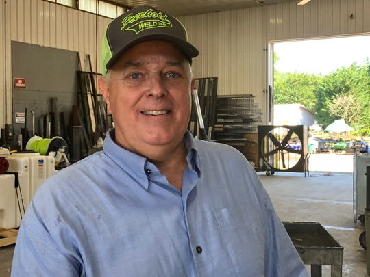 Scott Dronne, owner of Freehold Welding, is searching for a worker to fill a welding position.
