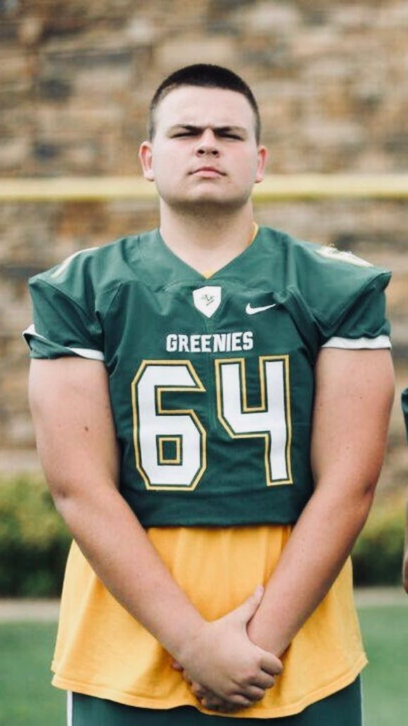 Christ School lineman Will Buchanan