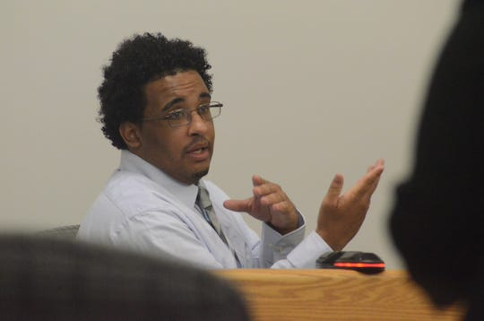 Davon West testifies about the shooting.