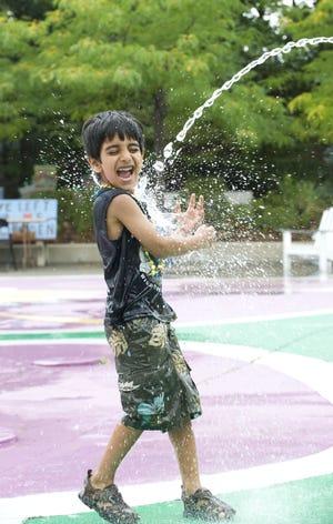 Beat the heat at the Camden Children's Garden.