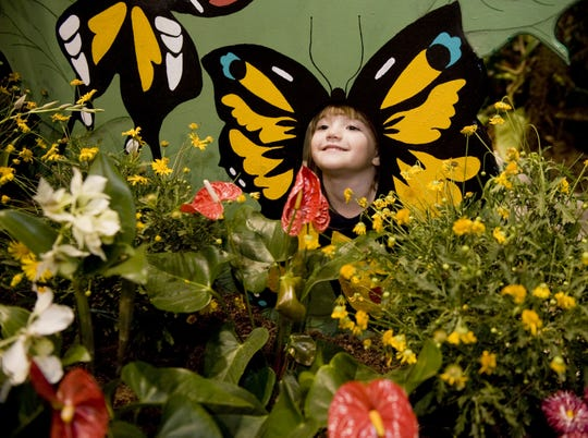 The Butterfly House and flowers of Camden's Children's Garden are a nice place to spend a morning.
