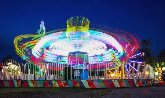 Rides are popular at the Butler County Fair, which runs July 21-27 at the Butler County Fairgrounds.