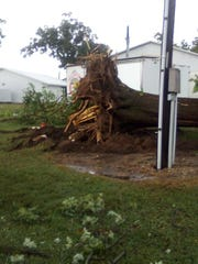 'I've never been through anything like this:' Storm damages Butler County Fairgrounds