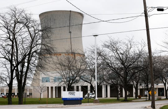 Davis-Besse Nuclear Power Station shown Tuesday, April 4, 2017, in Oak Harbor, Ohio.