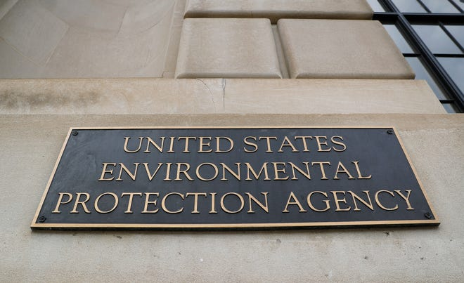 FILE - In this Sept. 21, 2017, file photo, the Environmental Protection Agency (EPA) Building is shown in Washington.