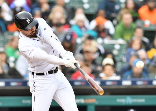 Since June 1, Nick Castellanos is hitting .306 with 14 doubles, 13 RBIs and four home runs.