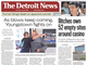 The front page of the Detroit News on July 18, 2019.