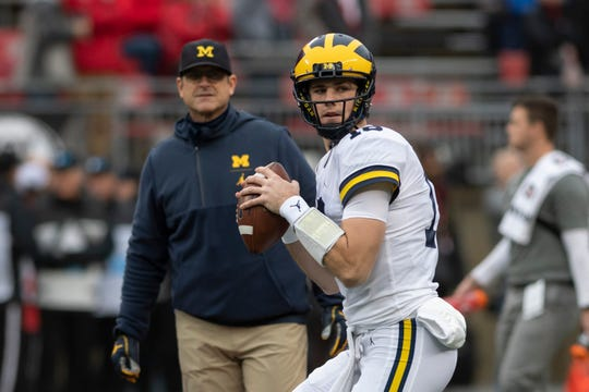 Former Michigan quarterback Brandon Peters will be suiting up with Illinois next season.