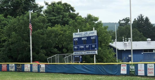 The main field at the Horseheads Little League will host the 2019 New York State Little League 9-11 championship tournament.